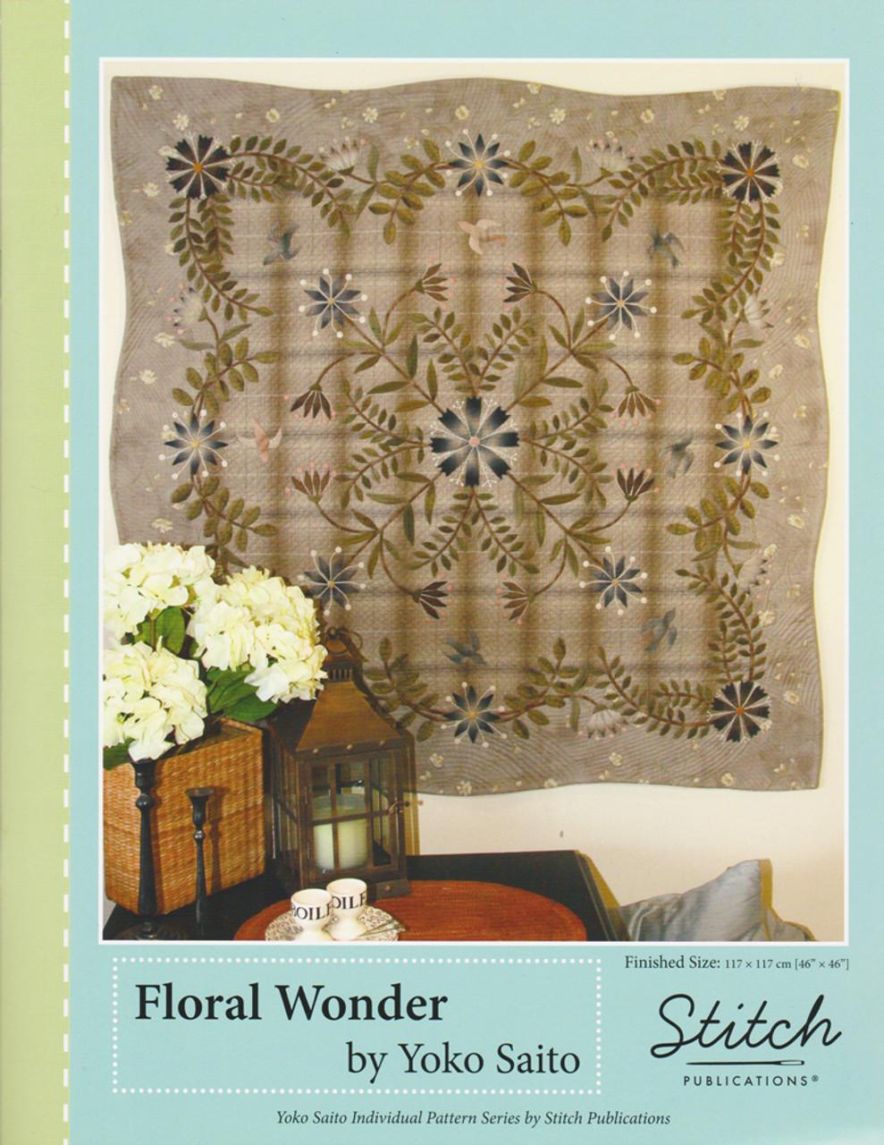 Floral Wonder Quilt Pattern Pys-974689 - Bebe Bold Japanese Textiles  Craft-2085