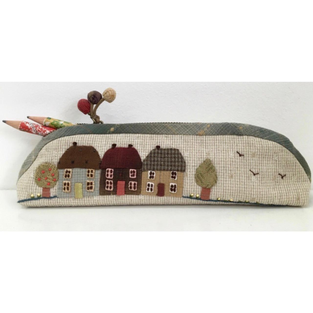 Mathildes Cottages Pencil Case Kit Kpc-Mat - Bebe Bold Japanese Textiles  Craft-9175