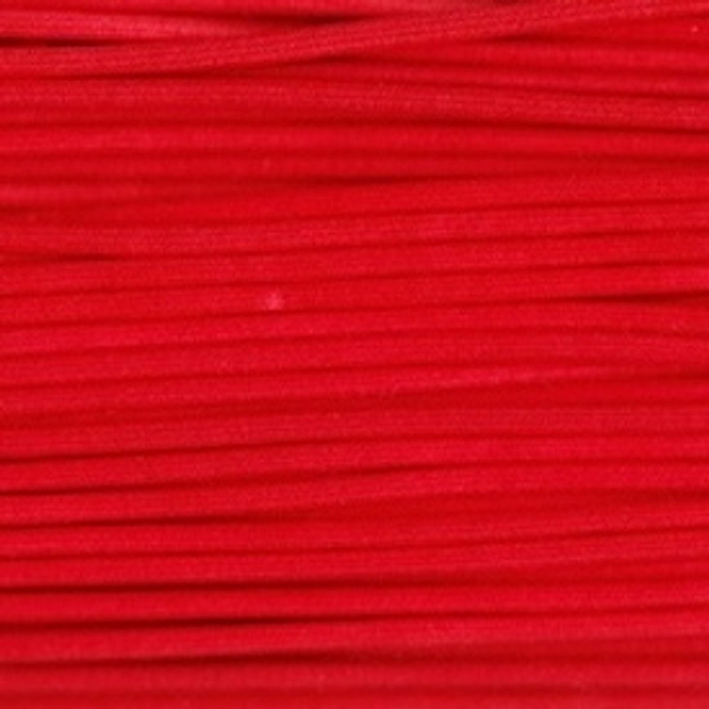Waxed Cotton Cording Red WCC-2