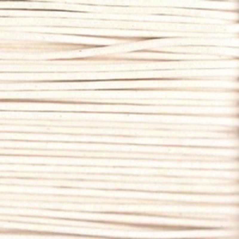 Waxed Cotton Cording Natural WCC-3