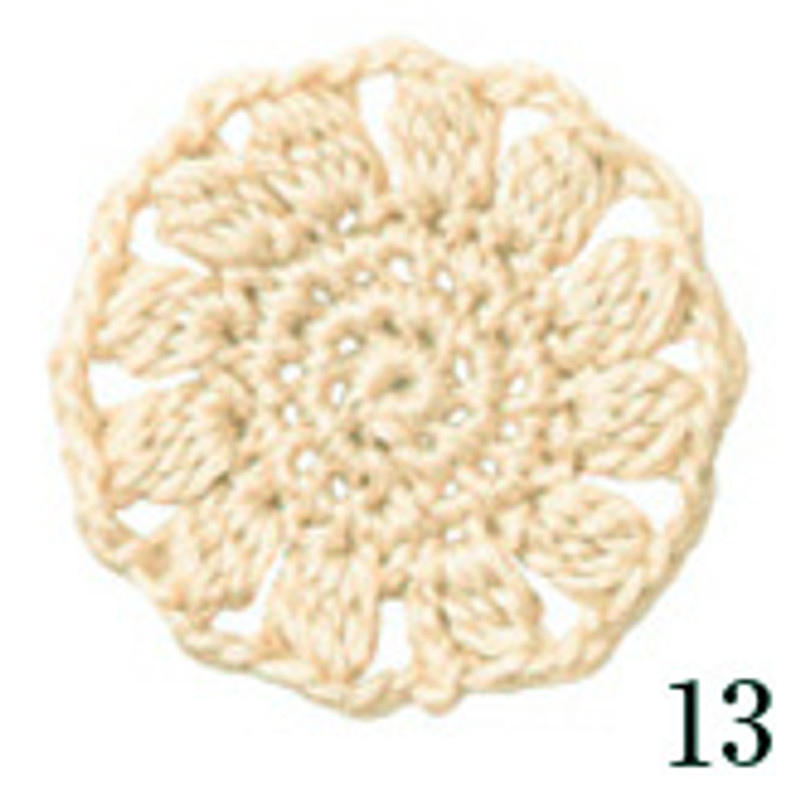 Crochet Thread Cotton Cuore Cream CC-13