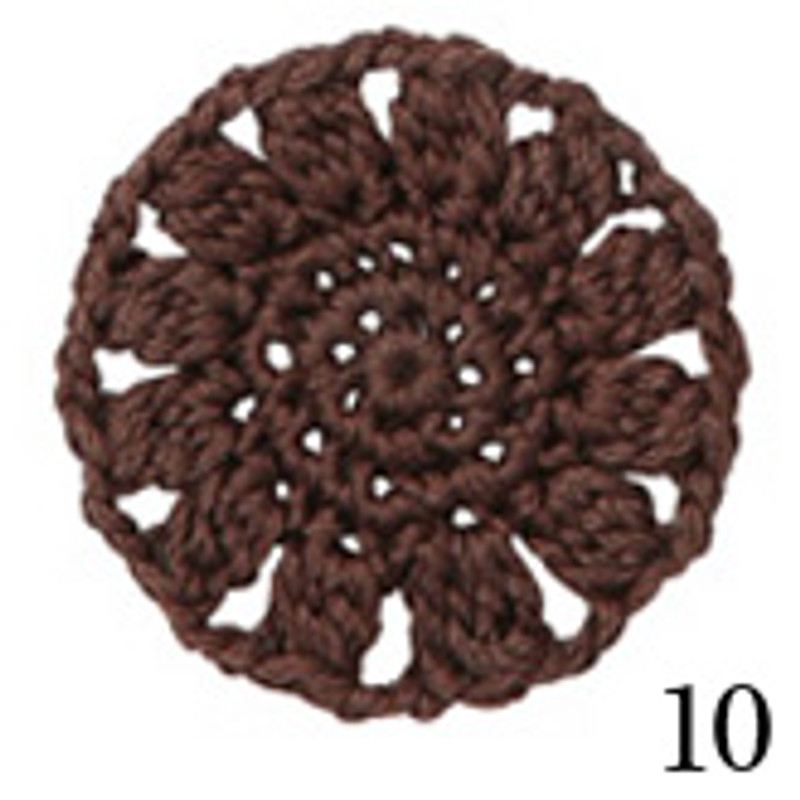 Crochet Thread Cotton Cuore Woodland Brown CC-10