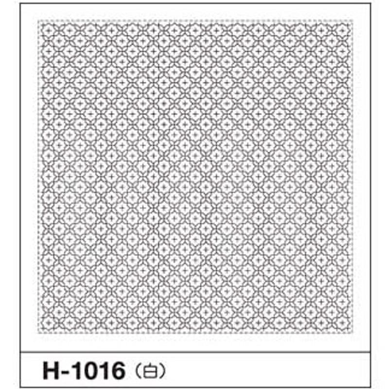 Sashiko Sampler Linked Crosses H-1016