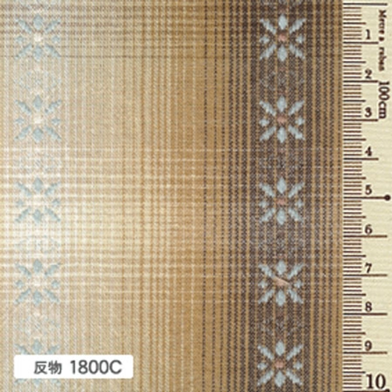 Sakizome Momen Yarn Dyed Fabric Daisy C 1800C