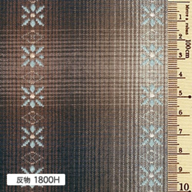 Sakizome Momen Yarn Dyed Fabric Daisy H 1800H