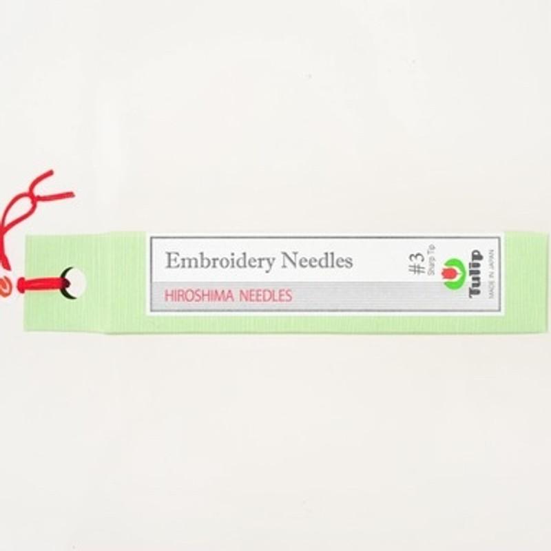 Embroidery Needles #3 Sharp Tip THN-015e