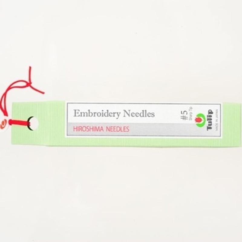 Embroidery Needles #5 Sharp Tip THN-017e