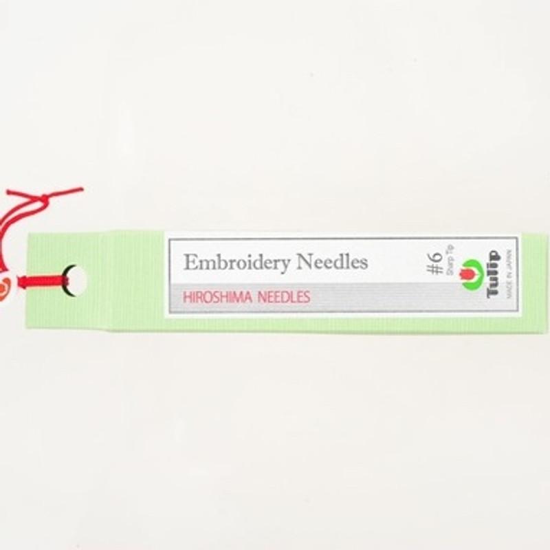 Embroidery Needles #6 Sharp Tip THN-018e