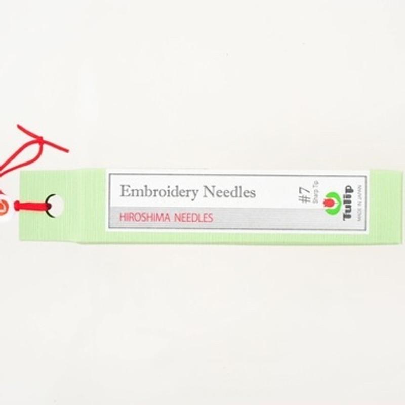 Embroidery Needles #7 Sharp Tip THN-019e
