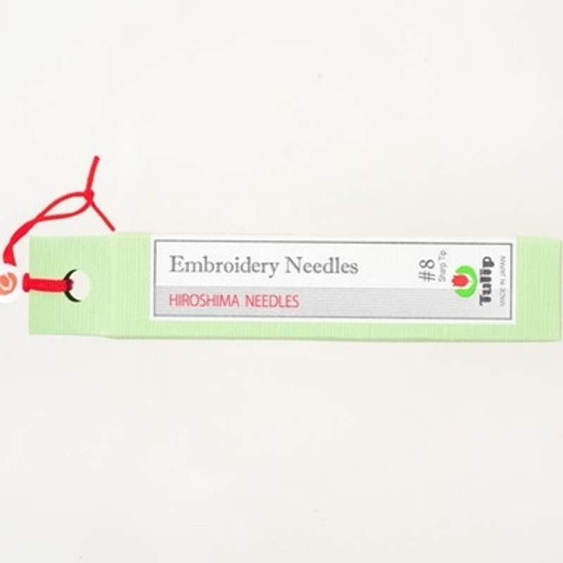 Embroidery Needles #8 Sharp Tip THN-020e