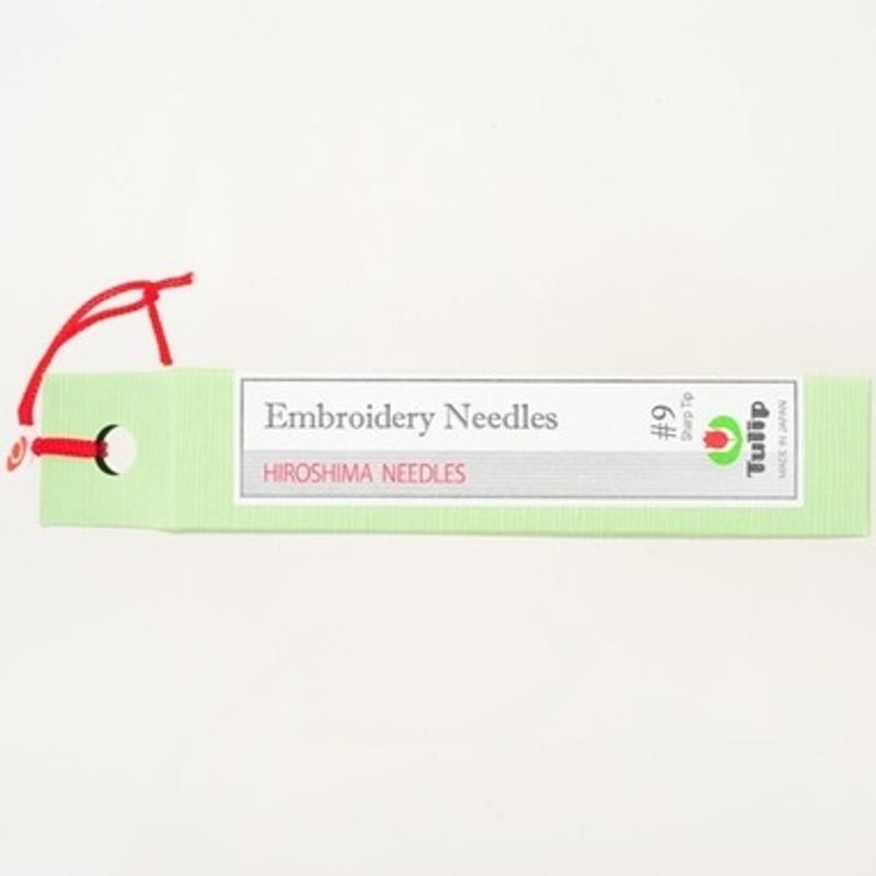 Embroidery Needles #9 Sharp Tip THN-021e