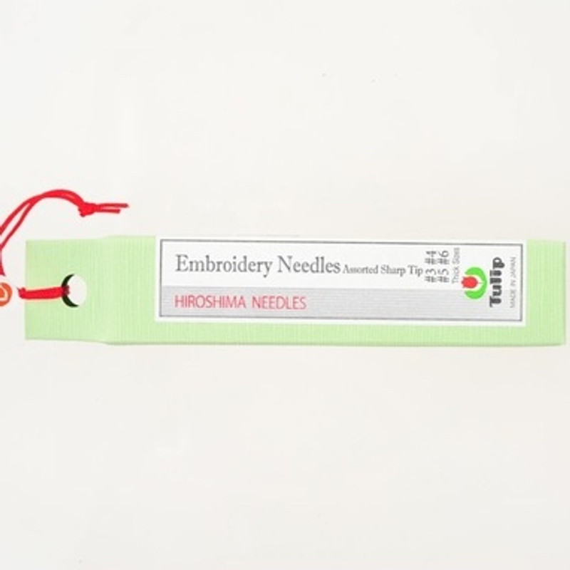Embroidery Needles Assorted Sharp Tip Thick Sizes #3-#6 THN-023e