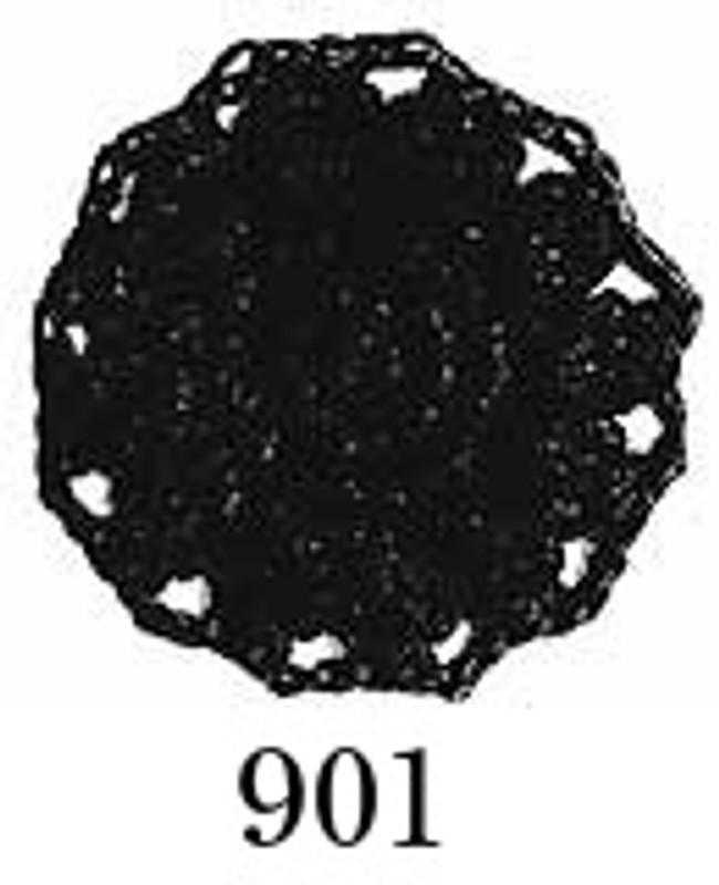 Crochet Thread Emmy Grande Solid Black EGS-901