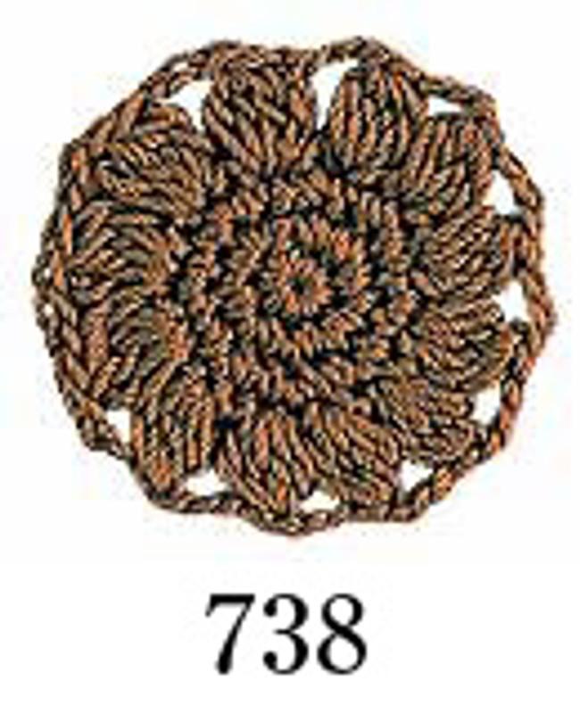Crochet Thread Emmy Grande Solid Brown EGS-738