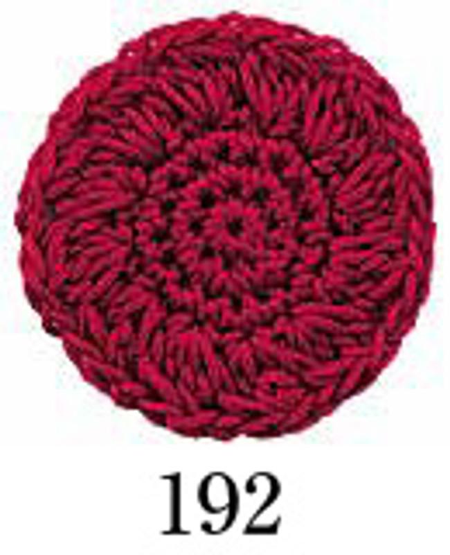 Crochet Thread Emmy Grande Solid Burgundy EGS-192