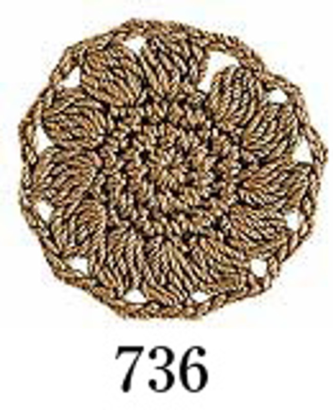 Crochet Thread Emmy Grande Solid Camel EGS-736