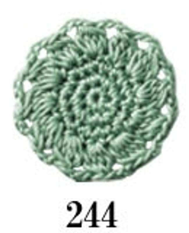 Crochet Thread Emmy Grande Colours Pale Mint Green EGC-244