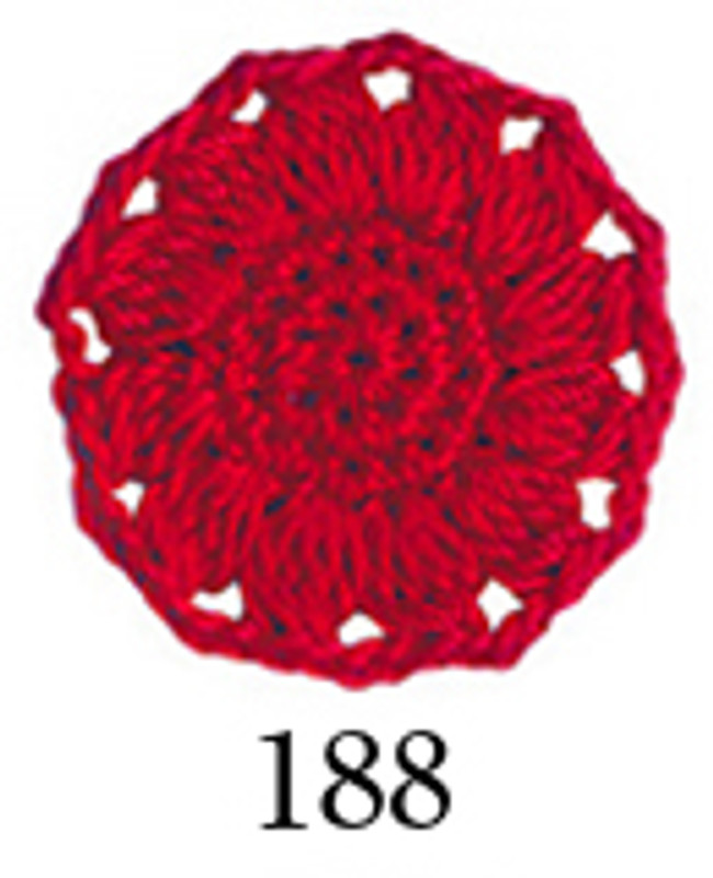 Crochet Thread Emmy Grande Colours Red EGC-188