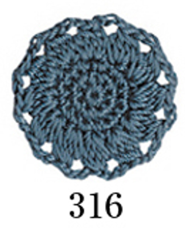 Crochet Thread Emmy Grande Colours Steely Blue EGC-316