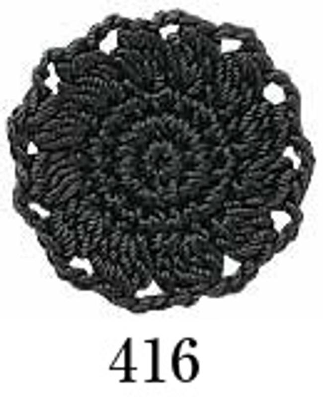 Crochet Thread Emmy Grande Solid Dark Grey EGS-416