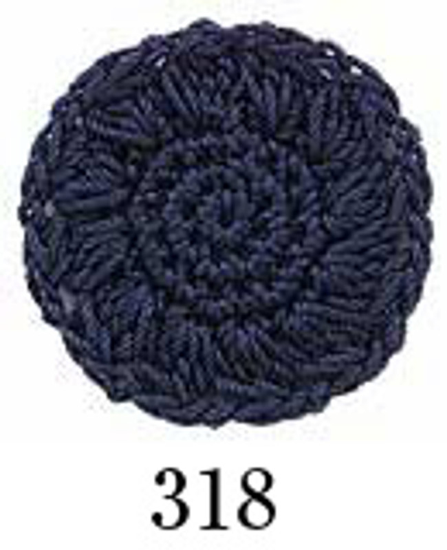 Crochet Thread Emmy Grande Solid Deep Blue EGS-318