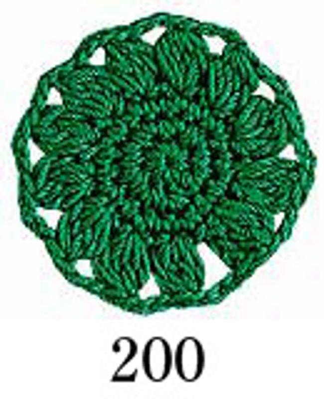 Crochet Thread Emmy Grande Solid Emerald Green EGS-200