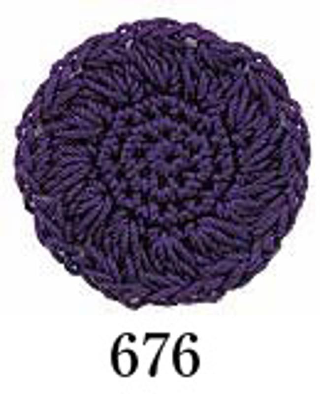 Crochet Thread Emmy Grande Solid Grape EGS-676
