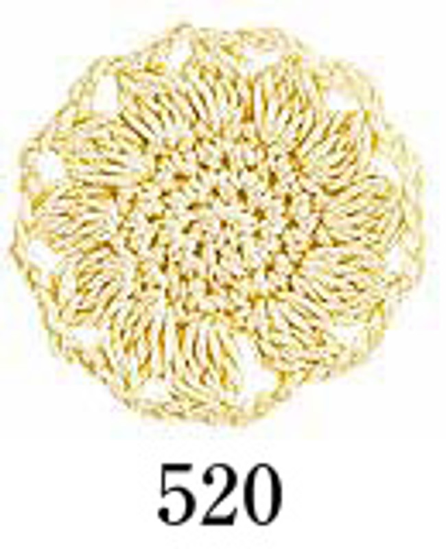 Crochet Thread Emmy Grande Solid Muted Yellow EGS-520