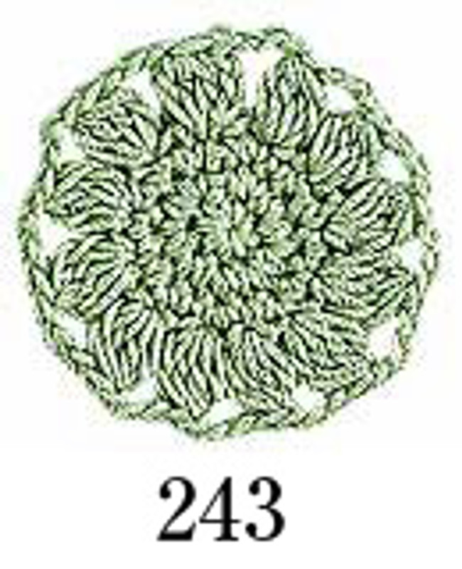 Crochet Thread Emmy Grande Solid Sea Green EGS-243