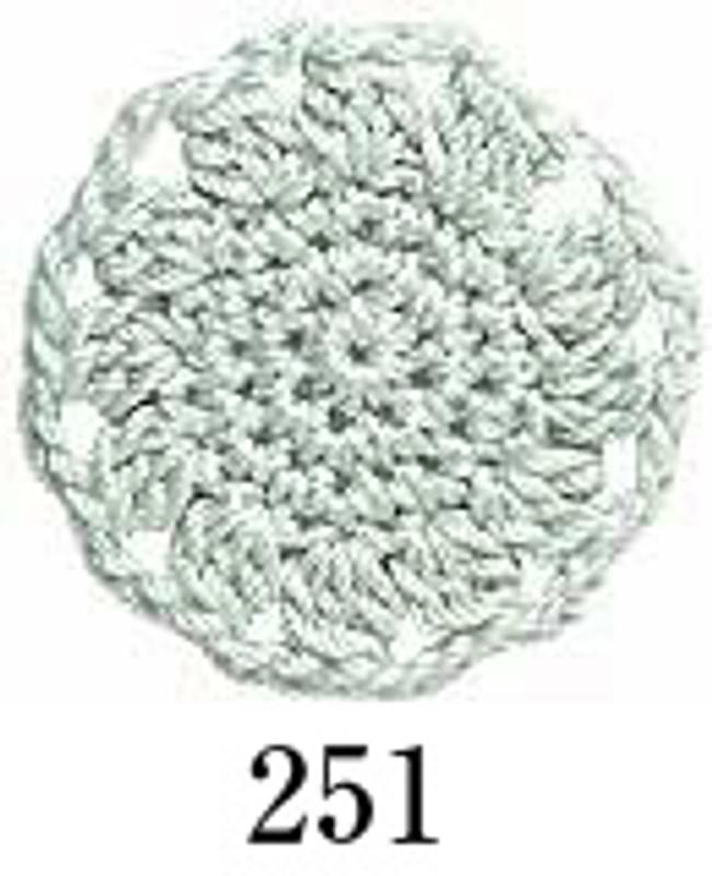 Crochet Thread Emmy Grande Solid Soft Green EGS-251
