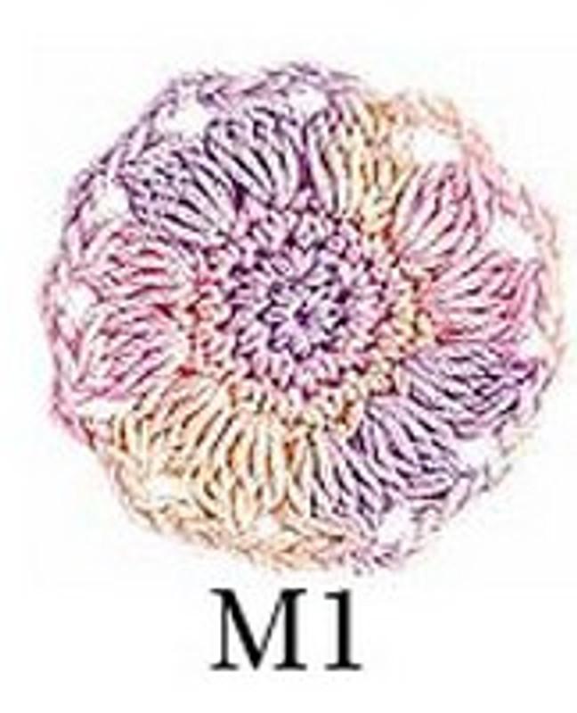 Crochet Thread Emmy Mixed Candy EGM-M1