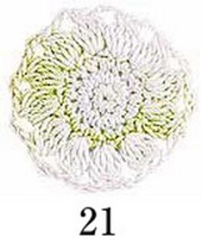 Crochet Thread Emmy Shaded Lime Green Dream EGSH-21