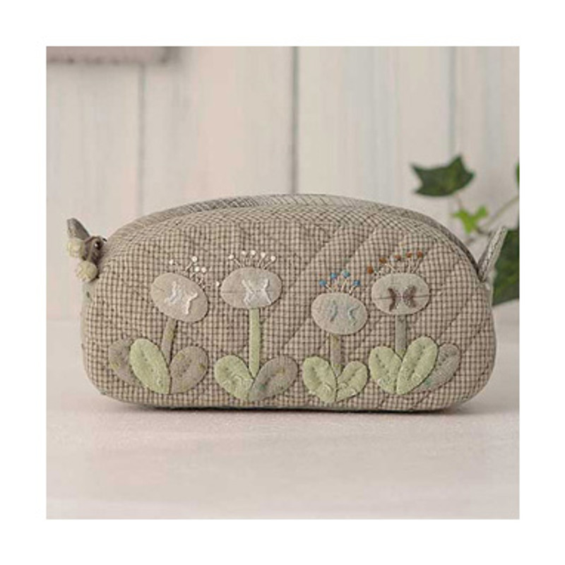 Olympus Patchwork Kit Flower Garden Pouch PA-480