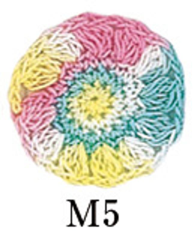 Crochet Thread Gold Label Mixed Multicoloured GL-M5