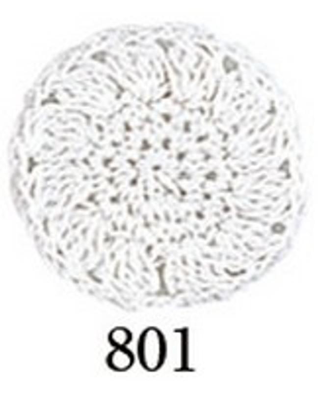 Crochet Thread Gold Label Bright White GL-801