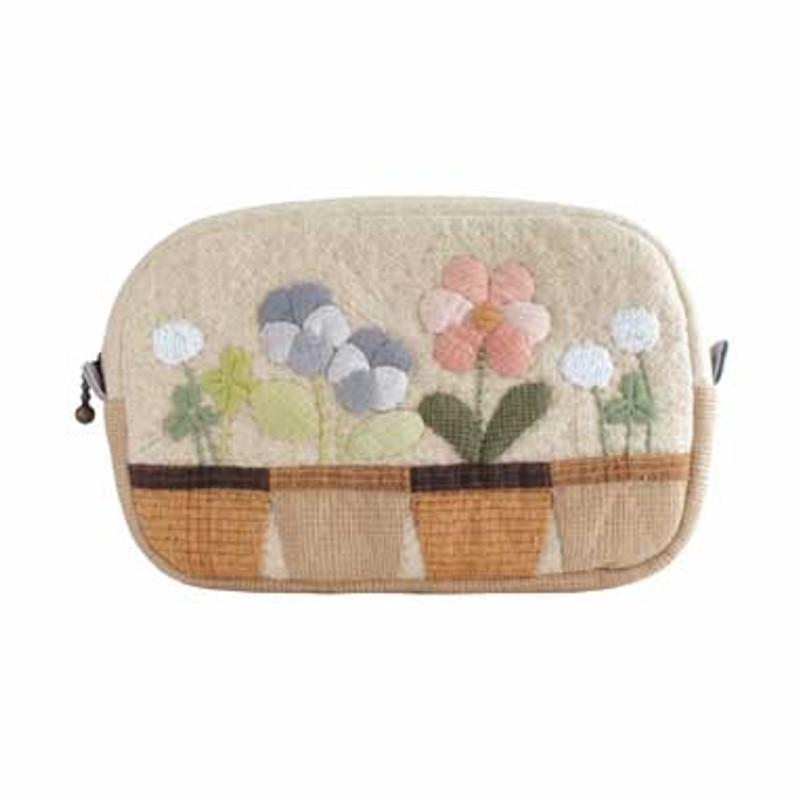 Olympus Patchwork Kit Happy Garden Tissue Pocket Pouch PA-538