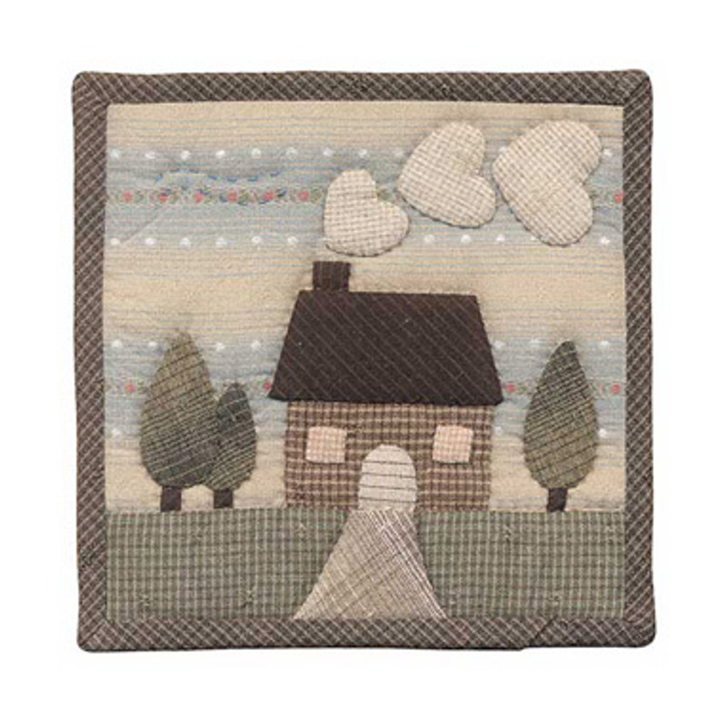 Olympus Patchwork Kit House Small Quilt PA-501