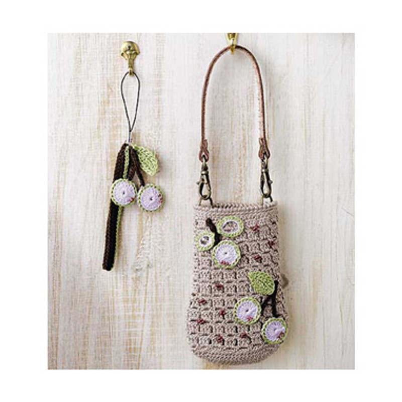 Mobile Phone Pouch with Decoration EG-84