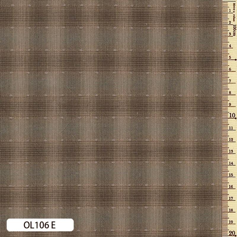 Sakizome Momen Fabric Original 106E Brown OL106E
