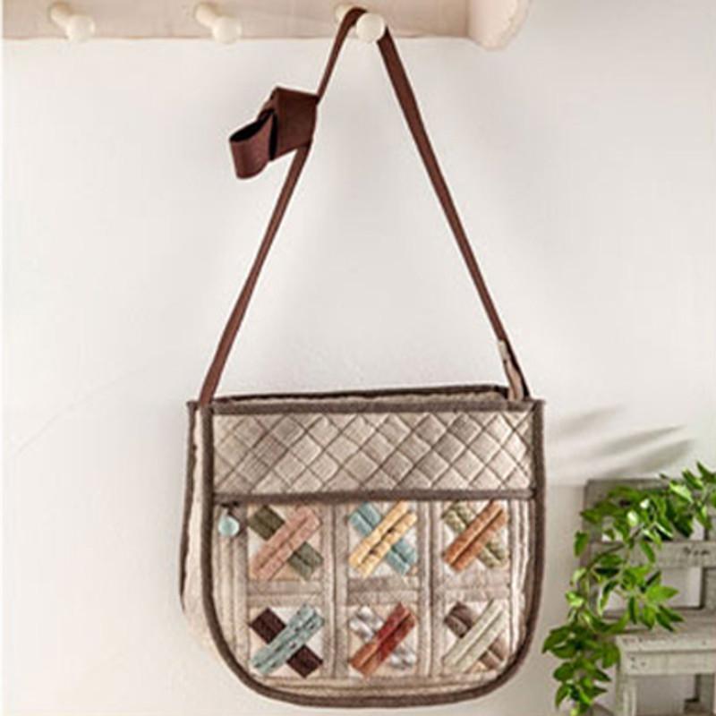 Olympus Patchwork Kit Patchwork Mosaic Shoulder Bag PA-607