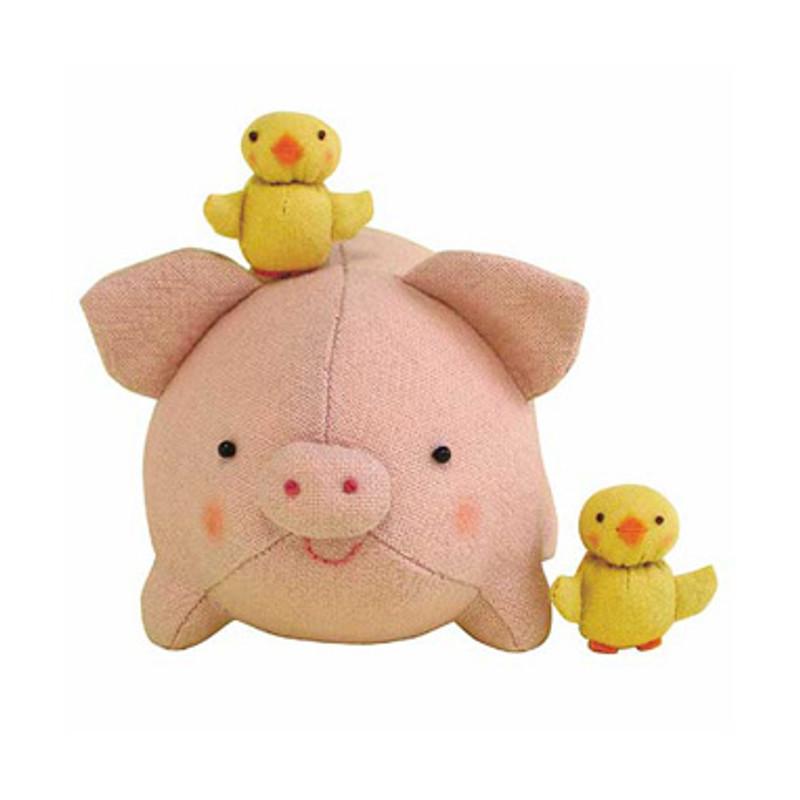Olympus Patchwork Kit Piglet & Chicks PA-453
