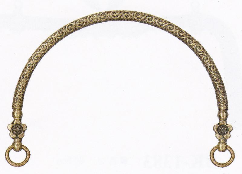 Purse Handles Antique Gold BK-1178AG
