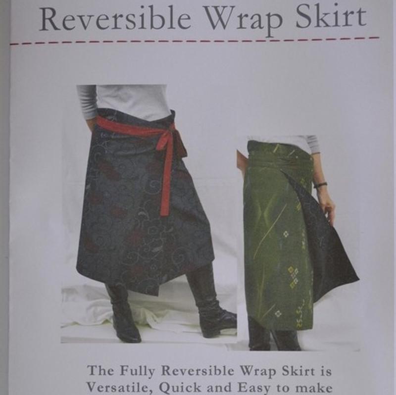Reversible Wrap Skirt Pattern PGWS-0140