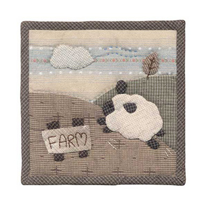 Olympus Patchwork Kit Sheep Farm Small Quilt PA-503