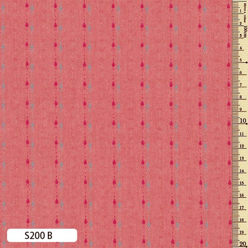 Sakizome Momen Fabric Shizuku B S200B