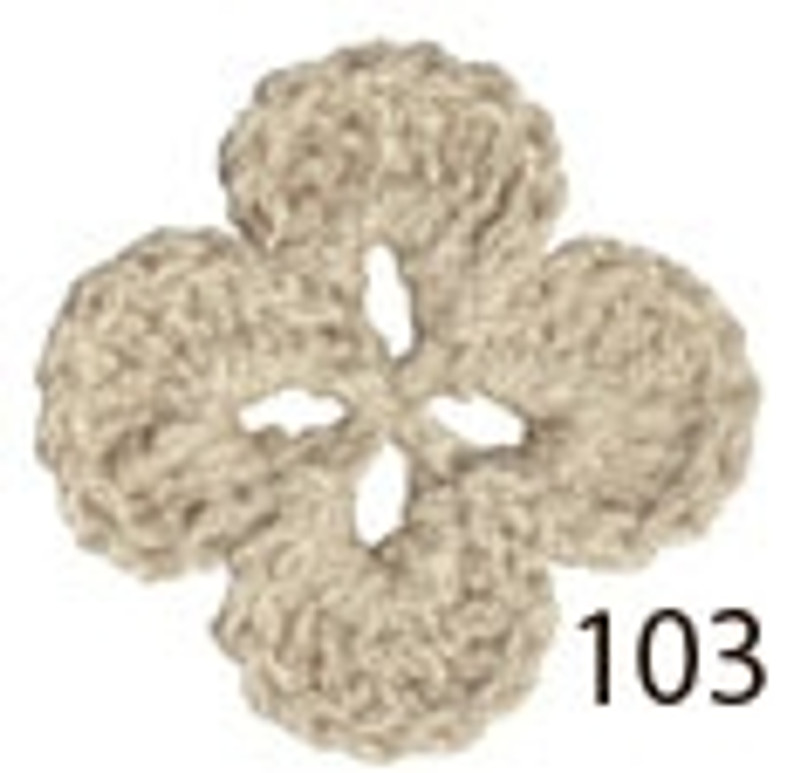 Crochet Thread Souffle Thin Beige STN-103