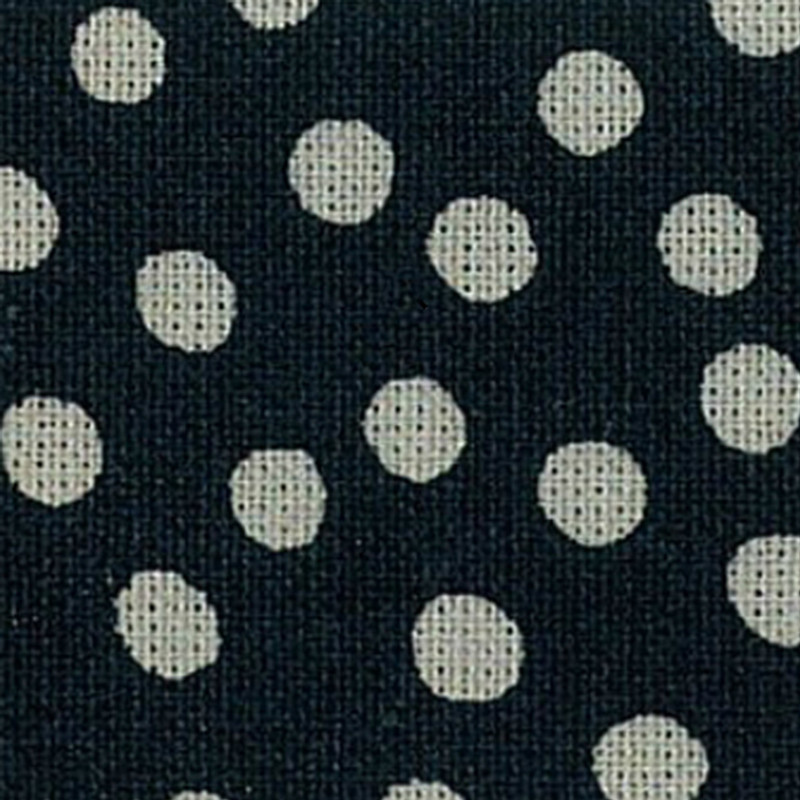 Takumi Printed Cotton Fabric Indigo 13N-4B