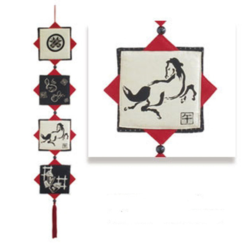 Olympus Patchwork Kit Year of the Horse Wall-Hanging PA-633