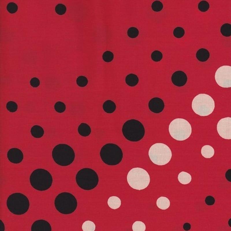 Yukata Printed Cotton Fabric Multi-Coloured TY-0523