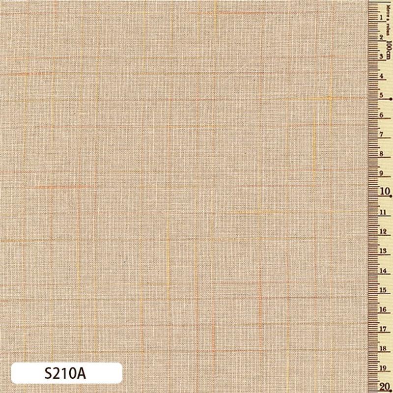 Sakizome Momen Fabric Lattice Check  S210A